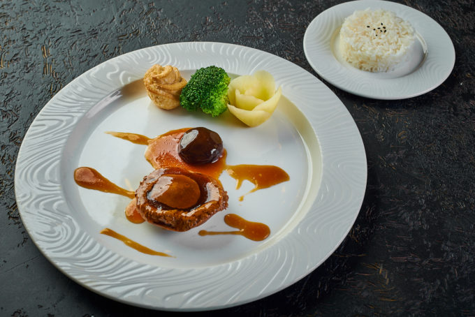 Abalone with imperial sauce 9500₽