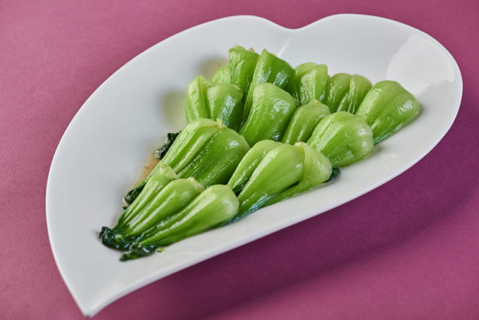 Bok Choy fried with garlic 800₽