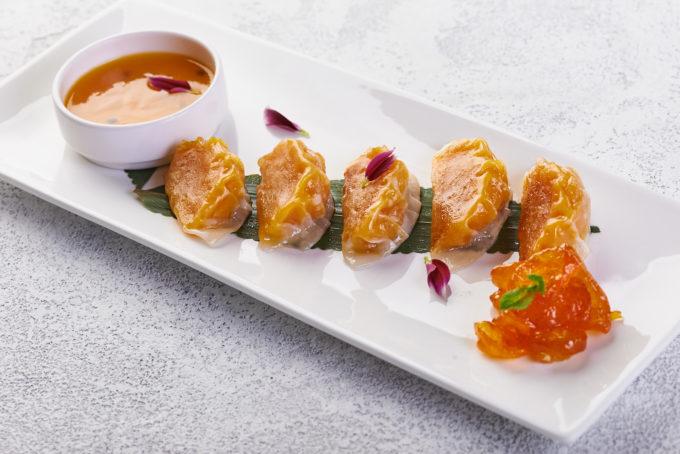 芒果西番莲瓦萨比水晶饺 550₽