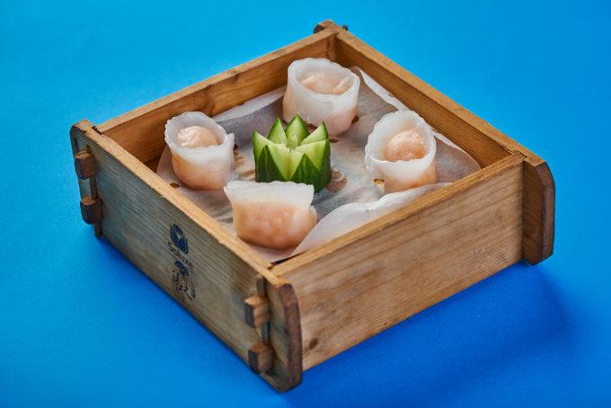 Dim sum with shrimps 600₽