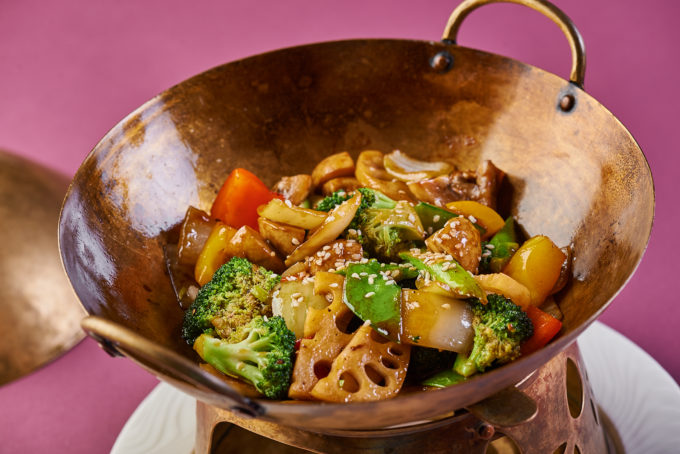 Crispy wok-fried vegetables 750₽