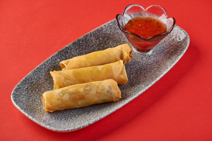 Crispy spring rolls with vegetables 400₽