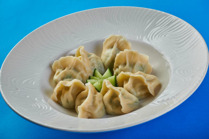 Chinese dumplings on boiled 500₽