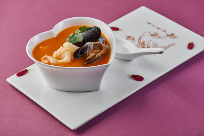 Malaysian soup with seafood 1300₽