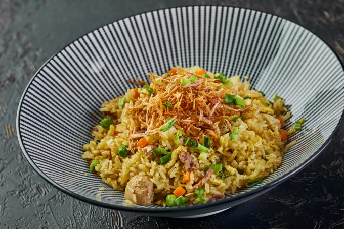 Fried rice with beef 700₽