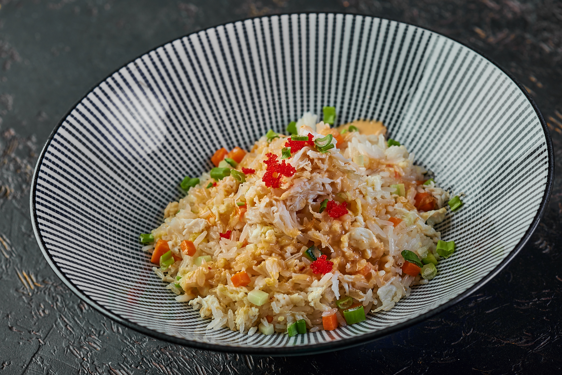 Fried rice with crab 950₽