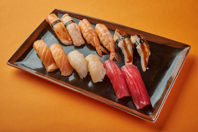 与螃蟹的辣寿司 350₽